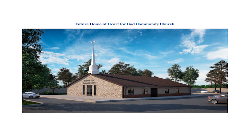 New Church home